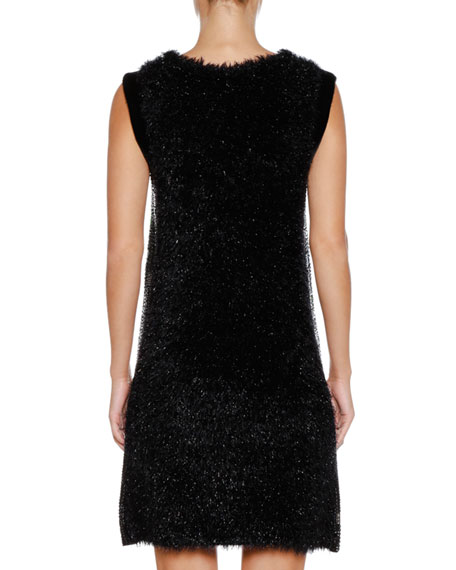 Sleeveless Embellished A-Line Mini Cocktail Dress