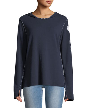 c10399dbcc1f Made on Grand Hoodie Topstitch Sweatshirt w  M.I.N.E On Arm