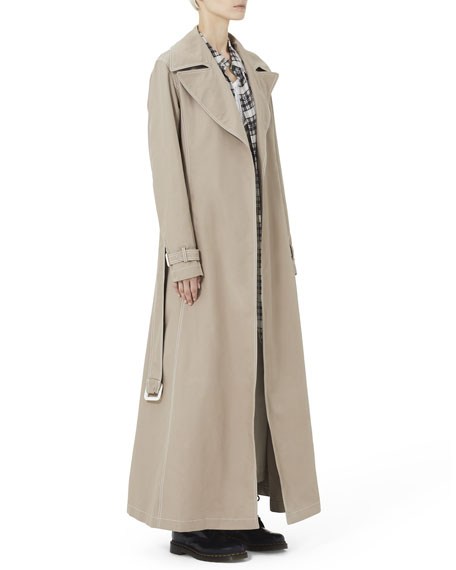 Marc Jacobs Redux Grunge Full-Length Belted Trench Coat