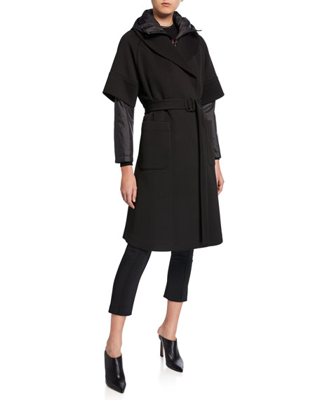 Emporio Armani Belted Multifunctional Jacket