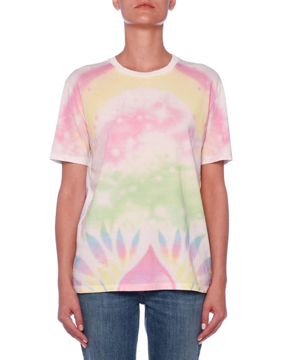3c5de02546 Stella McCartney Heart Back Tie-Dye T-Shirt