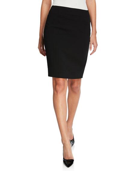 Akris Stretch Wool Pencil Skirt