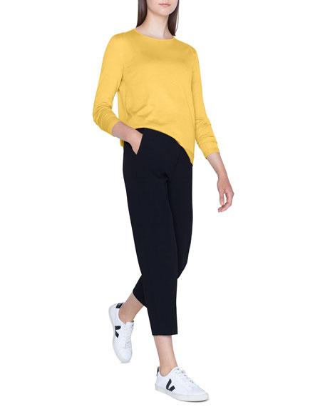 Akris Fine-Gauge Cashmere-Silk Sweater