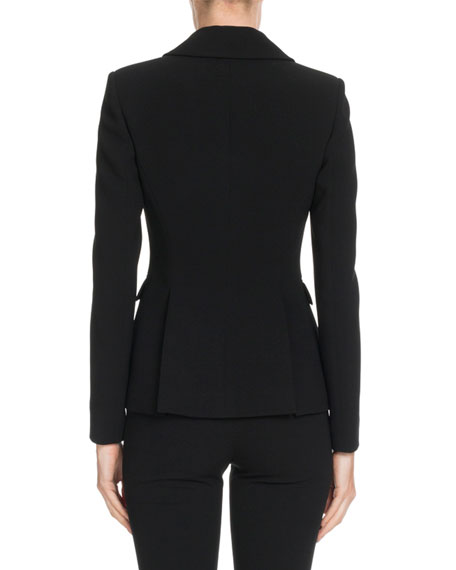 Altuzarra Two-Button Crepe Blazer