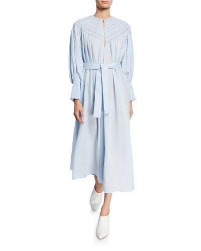 Long-Sleeve Margarita Stitch Dress