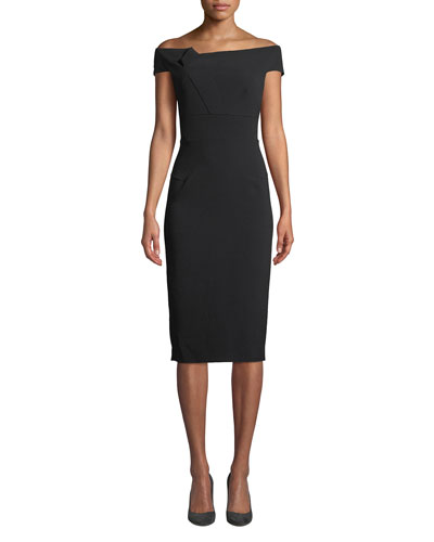 Monmay Off-The-Shoulder Midi Dress