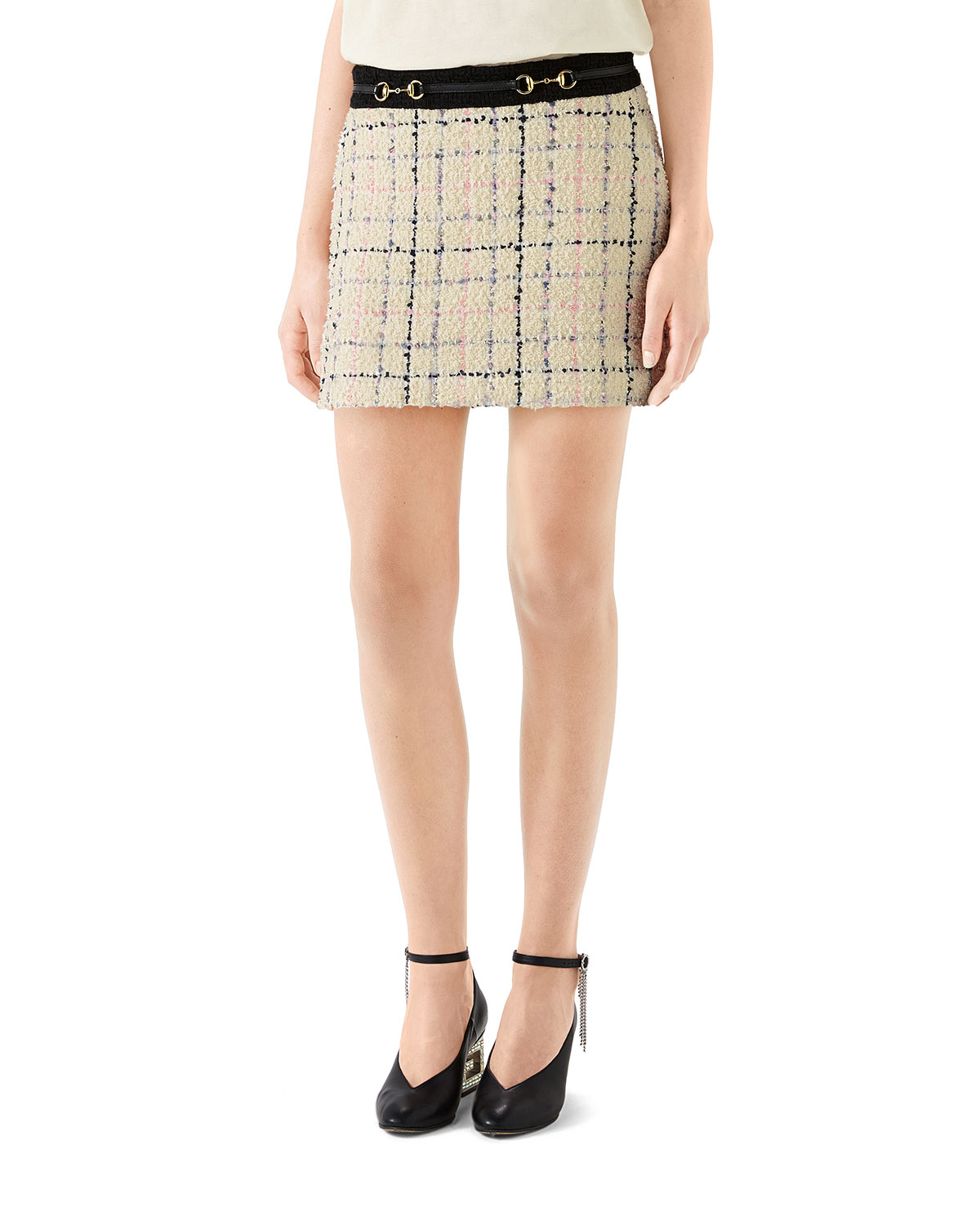 050eb82d Romantic Tweed Mini Skirt