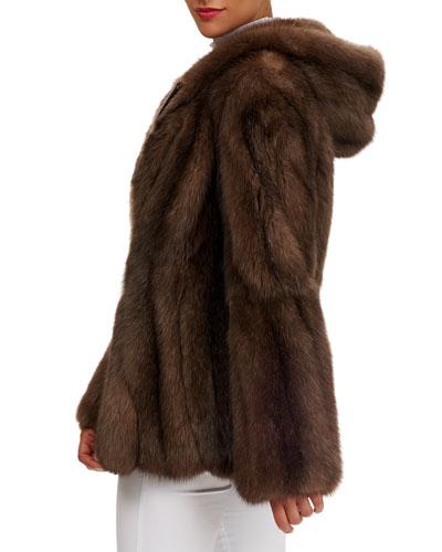 Russian Sable Stroller Coat