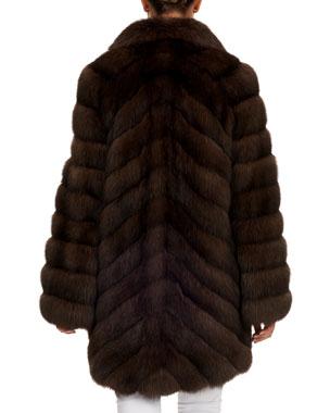 Black Coyote Fur Coat Neiman Marcus >> Women S Designer Fur Coats Jackets At Neiman Marcus