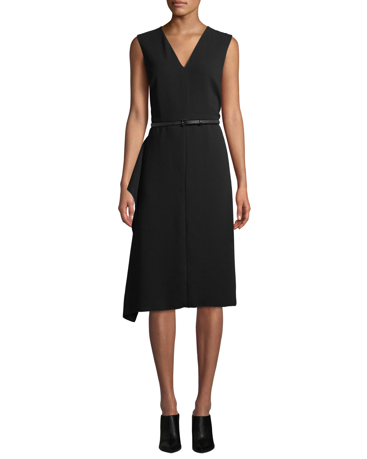d35ec6f7eb Maxmara Robin Sleeveless Belted Dress