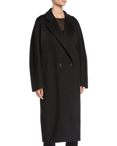 Zelig Cashmere Long Cape Coat