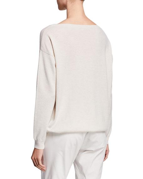 Brunello Cucinelli Cashmere Monili-Pocket Sweater