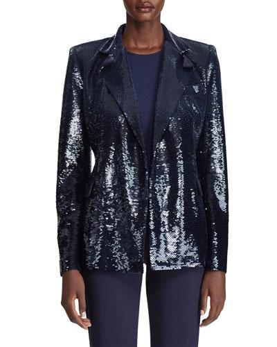 Camden Sequined Blazer Jacket