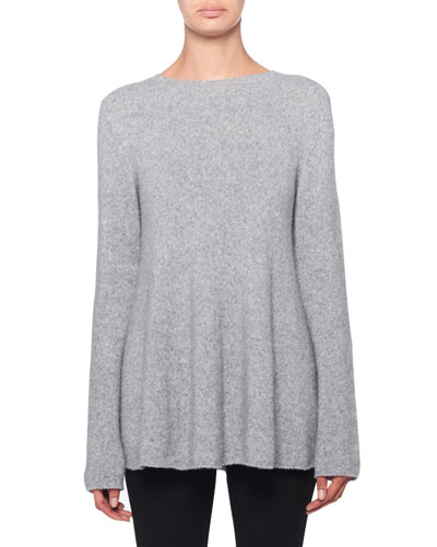 Sabel Wool-Cashmere Crewneck Sweater