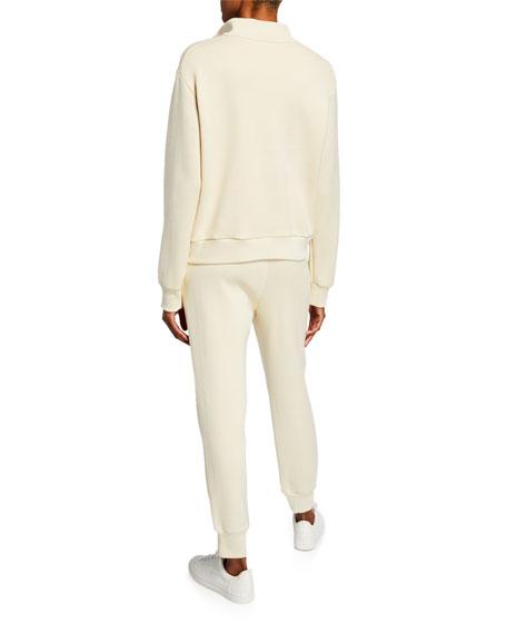 THE ROW Ashilee Zip-Front Sweatshirt