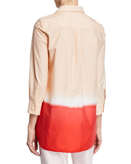 Piazza Sempione Eugenia Ombre Cotton Tunic