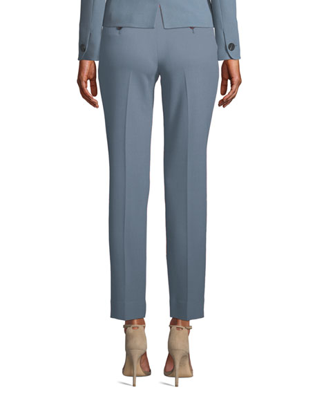 Emporio Armani Waffle-Wave Knit Trousers