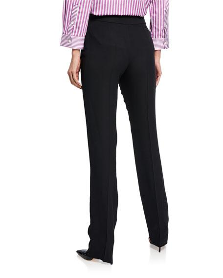 4456834da5 Basic Straight-Leg Stretch Wool Pants