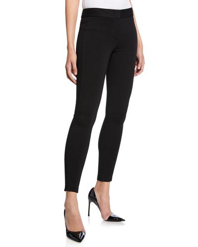 Mid-Rise Slim Jersey Leggings