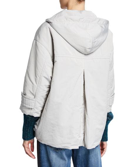 Brunello Cucinelli Taffeta Anorak Jacket