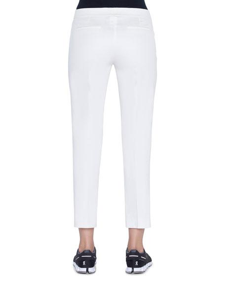 Akris Frances Slim-Leg Pants