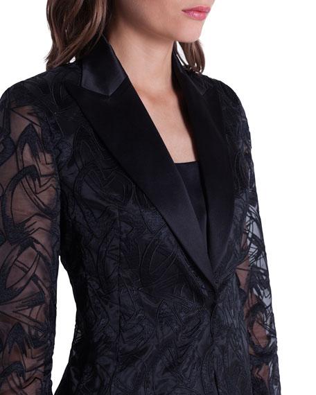 Akris Amedea Market Embroidered Jacket