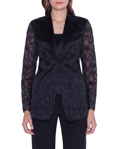Amedea Market Embroidered Jacket