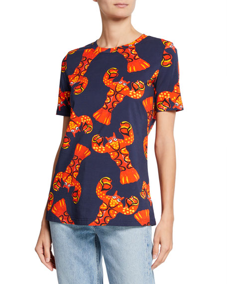 Libertine Short-Sleeve Lobster Graphic Tee