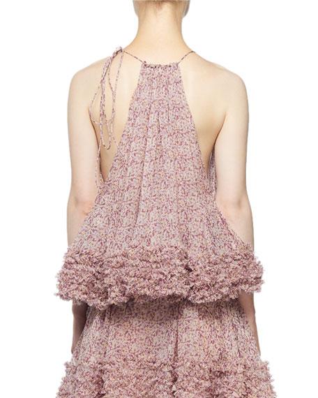 Stella McCartney Ditzy Floral Chiffon Blouse