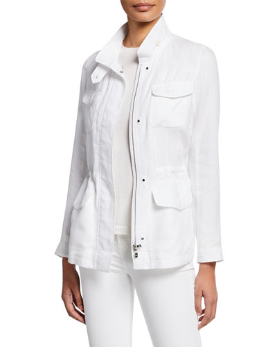 Lady Linen Traveler Jacket