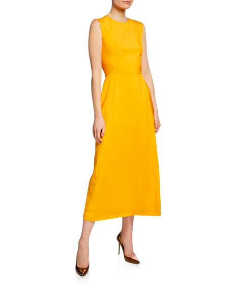 Escada Round-Neck Sleeveless Dress