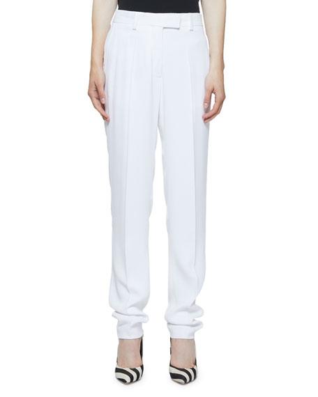 Dries Van Noten Clean Longer Length Straight-Leg Trousers