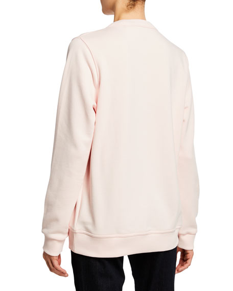 Burberry Logo-Print Cotton Sweatshirt