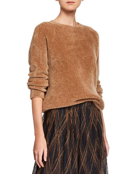Brunello Cucinelli Cashmere-Silk Teddy Sweater