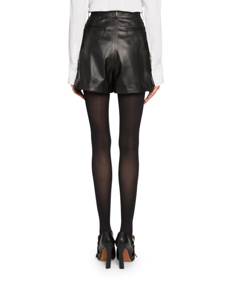 Altuzarra High-Waist Cuffed Shorts