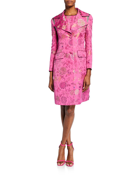 Etro Floral Brocade Topper Jacket