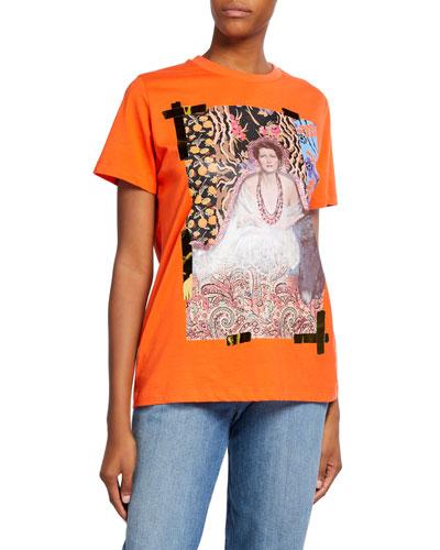 Metallic Lady Shimmer T-Shirt