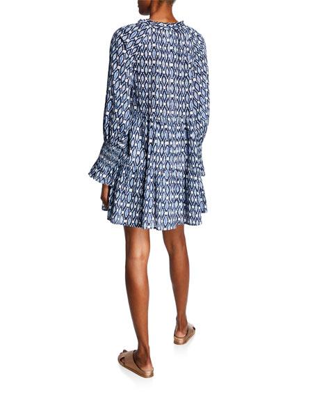Figue Bella Sumba Ikat Smocked Dress