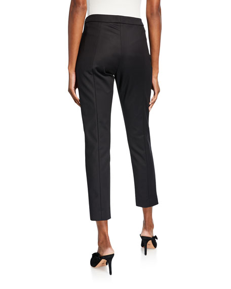 Carolina Herrera Stretch Cotton Skinny Pants