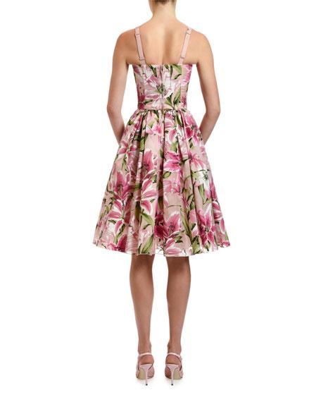 Dolce & Gabbana Thin-Strap Organza Dress