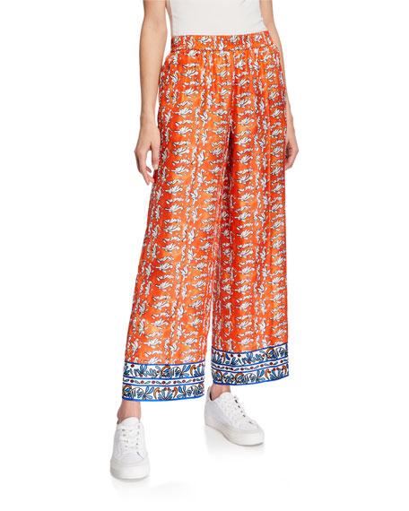 Escada Ceramic-Print Pajama Pants