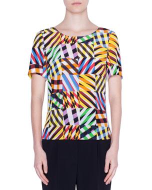 08da18b25e Women's Designer Tops at Neiman Marcus