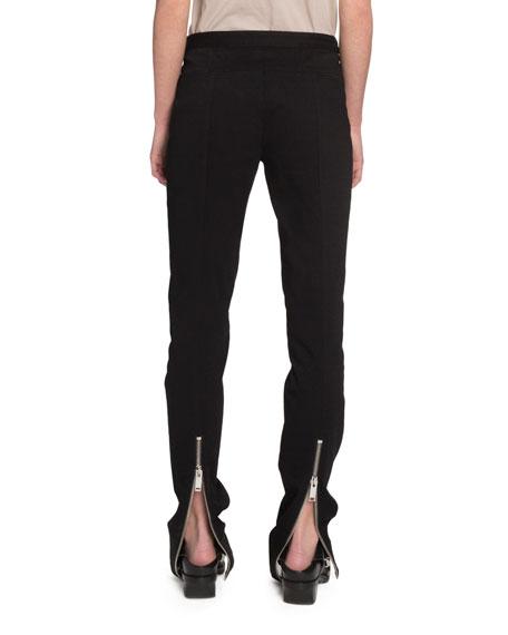 Proenza Schouler Skinny Zip-Cuff Pants