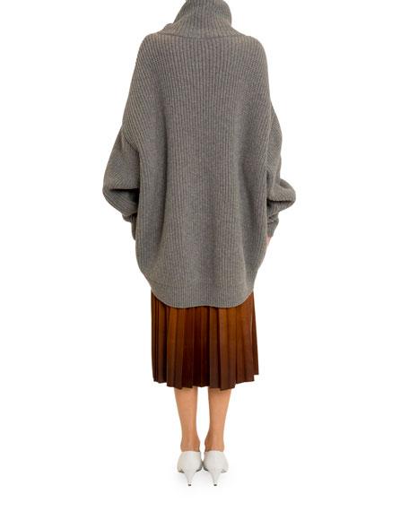 Givenchy Oversized Chunky Turtleneck Sweater