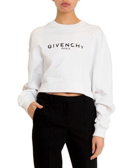 Givenchy Long-Sleeve Logo Sweatshirt