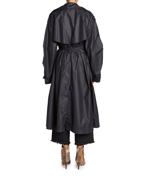 Isabel Marant Clem Lightweight Trench Coat