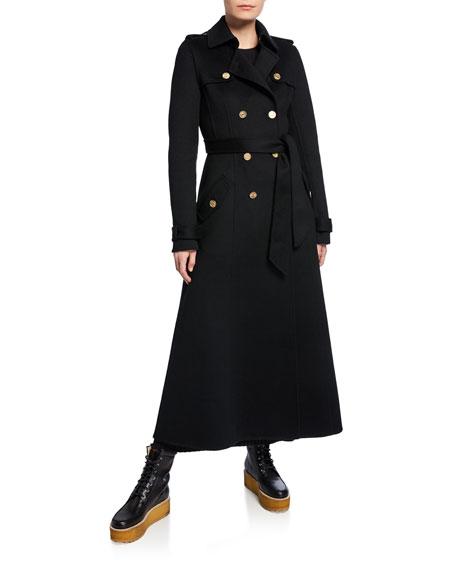 Gabriela Hearst Coats CASATT CASHMERE TRENCH COAT