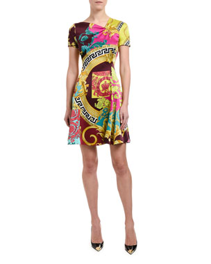 82bc21f0f82 Versace Dresses   Women s Clothing at Neiman Marcus
