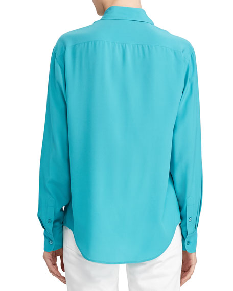 Ralph Lauren Collection Antoinette Silk Shirt