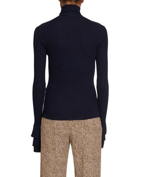 Chloe Wool Turtleneck Sweater